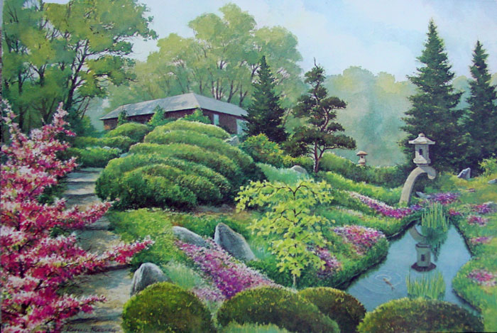 Garden Water Color